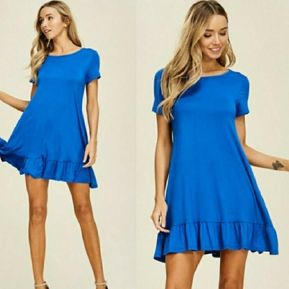 Dresses Plus Size Flirty Ruffle Dress Or Tunic Poshmark